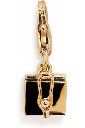 TOM WOOD Box-vedhæng i 9 karat guld