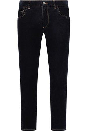 Dolce & Gabbana Mænd Slim - Jeans i mørk vask og smal pasform