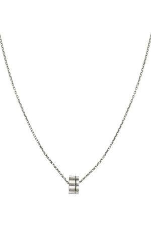 Christofle Graphik halskæde i sterlingsølv med vedhæng