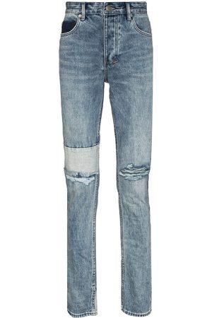 KSUBI Mænd Slim - Chitch Retrograde Trashed jeans med smal pasform