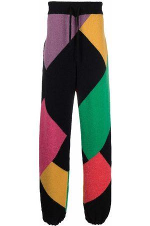 Palm Angels Mænd Joggingbukser - X Missoni Sport joggingbukser i strik med colour-block