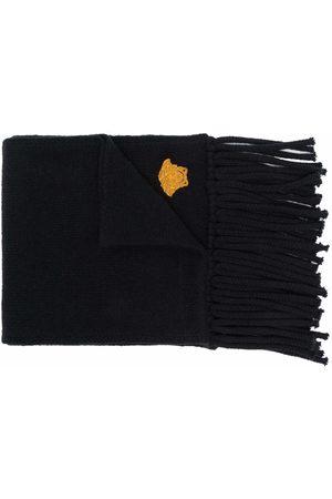 VERSACE Mænd Tørklæder - Tørklæde med logo-broderi og frynset kant