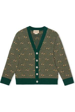 Gucci Kids Drenge Cardigans - GG cardigan i uld