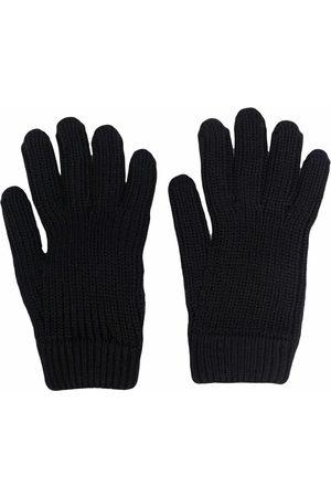 Prada Strikkede handsker med logolomme