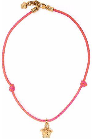 VERSACE Flettet halskæde med Medusa-vedhæng