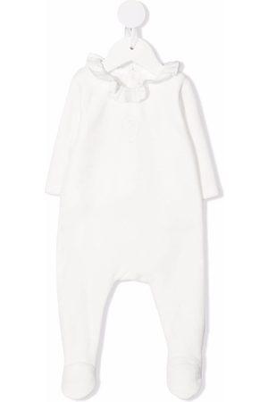 Chloé Langærmet pyjamas med flæsehals