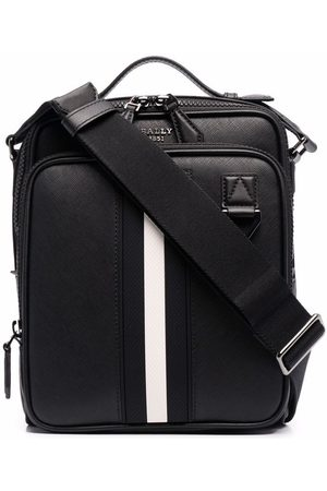 Bally Crossbody-taske med stribet kant