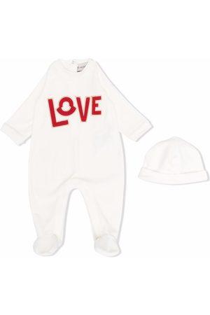 Moncler Baby Pyjamas - Pyjamas med Love-broderi