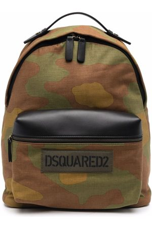 Dsquared2 Camouflage logo print backpack
