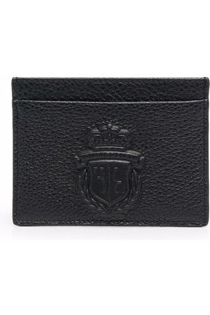 BILLIONAIRE Kortholder i læder med præget logo