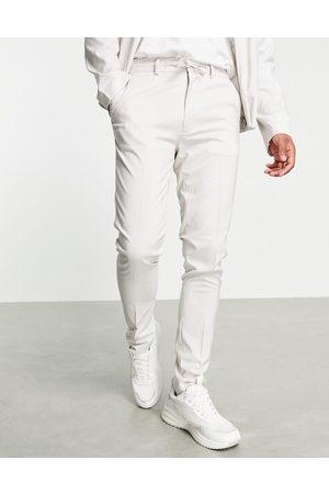 ASOS Elegante Skinny-bukser i isgrå - Del af sæt