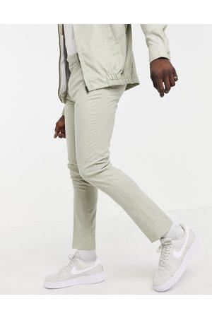 ASOS Elegante Skinny-bukser i - Del af sæt-Neutral