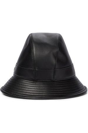 Loro Piana Leather bucket hat
