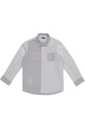 Il gufo Pinstriped cotton shirt