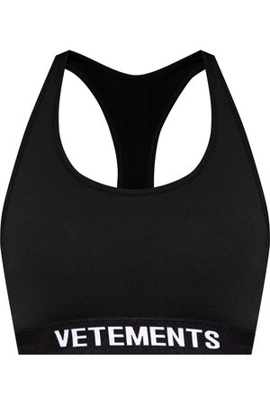Vetements Cropped training top