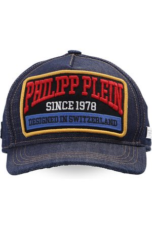 Philipp Plein Patched baseball cap