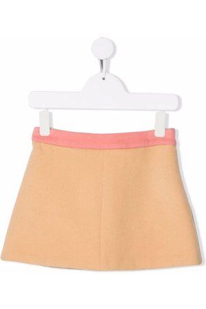 Emilio Pucci Junior Piger Nederdele - Uldnederdel med kontrast-talje