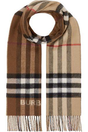Burberry Tofarvet tørklæde i kashmir