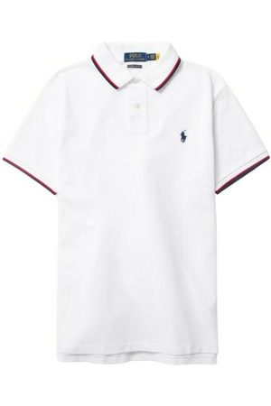Polo Ralph Lauren Mænd Toppe - Polo shirt with contrasting edges
