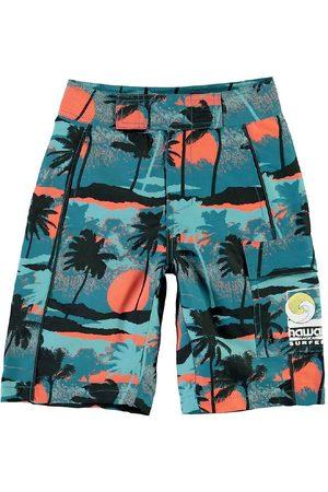 Molo Badeshorts - UV50+ - Natan - Palm Trees Blue