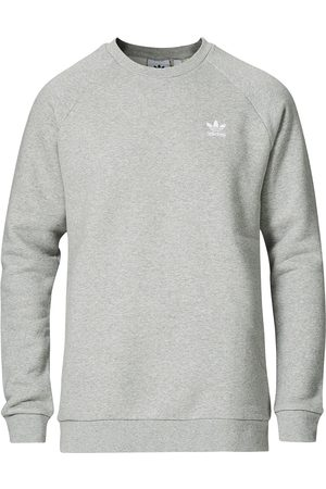 adidas Mænd Sweatshirts - Essential Trefoil Sweatshirt Grey Melange