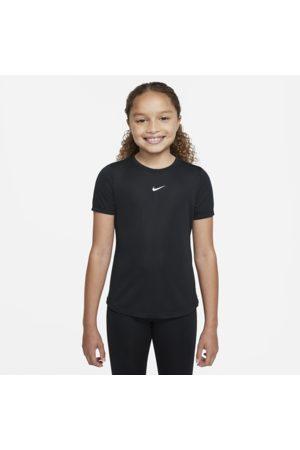 Nike Dri-FIT One-top med korte ærmer til større børn (piger)