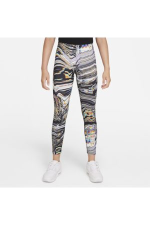 Nike Sportswear Favorites-leggings med print til større børn (piger)