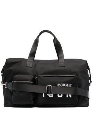 Dsquared2 Mænd Weekendtasker - Rejsetaske med logo