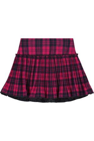 Il gufo Checked skirt