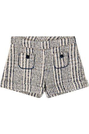 Tartine Et Chocolat Checked tweed shorts