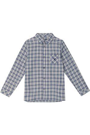 Tartine Et Chocolat Checked cotton-blend shirt