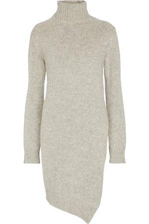 Jil Sander Kvinder Højhalset - Wool turtleneck dress