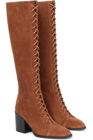 Aeydē Exclusive to Mytheresa – Britta suede boots