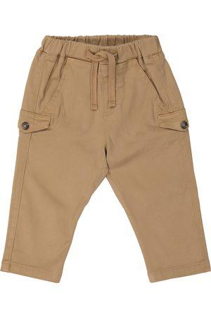 Tartine Et Chocolat Elasticated cotton-blend pants