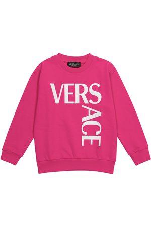 VERSACE Medusa printed cotton sweatshirt