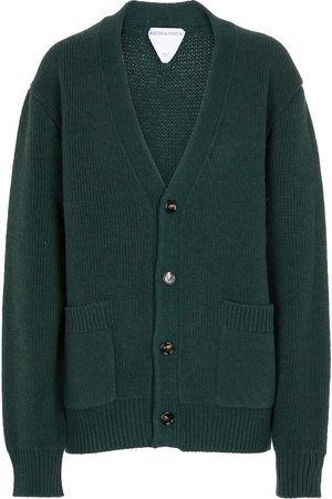 Bottega Veneta Oversized V-neck wool cardigan