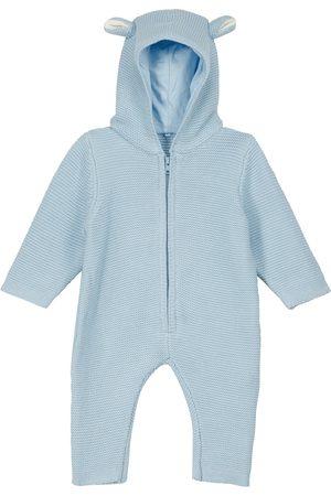 Stella McCartney Baby cotton and wool-blend onesie