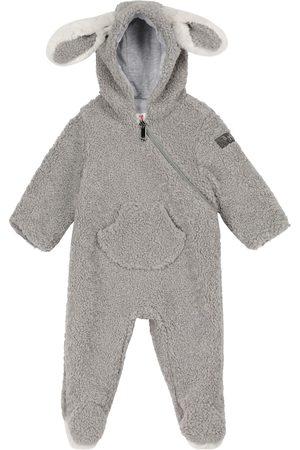 Il gufo Baby hooded onesie