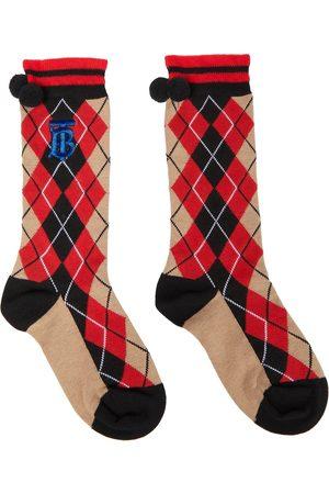 Burberry Argyle-knit socks