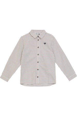 Tartine Et Chocolat Checked cotton shirt