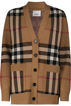Burberry Cashmere and wool knit cardigan