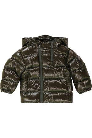 Emporio Armani Hooded down coat