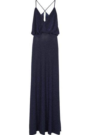 MONIQUE LHUILLIER Plunge-neck gown