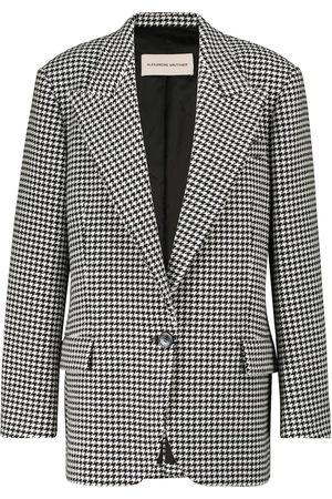 ALEXANDRE VAUTHIER Houndstooth wool-blend blazer