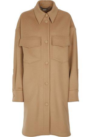 Stella McCartney Kerry single-breasted wool coat