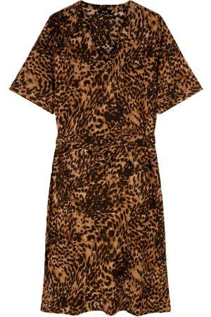Alix the label Crinkle dress animal - 2105334056-601