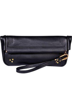 JÉRÔME DREYFUSS Clic Clac L Soft leather pouch