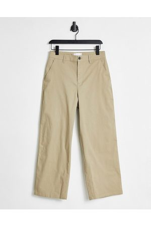 ASOS Wide Fit - chinos-Brun