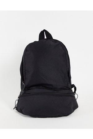 ASOS Sammenfoldelig rygsæk og crossbody-taske i nylon