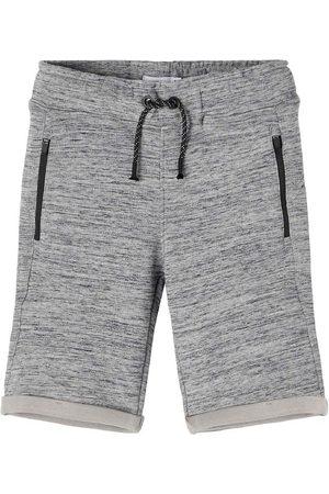 NAME IT Shorts - Noos - NkmScottt - Gråmeleret